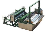 Gute Qualität Nicht gesponnene Schneidemaschine & Nicht- gesponnene prägeartige aufschlitzende und Rückspulenmaschine CER Zustimmung Linie disponibles à la vente