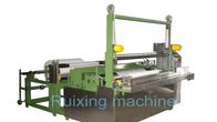 Gute Qualität Nicht gesponnene Schneidemaschine & Eine Rolle Papier-der gesponnenen Slitter Rewinder-Maschinen-automatischen Draht-Schneidemaschine disponibles à la vente