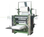 Gute Qualität Nicht gesponnene Schneidemaschine & Gesichtsmake-upquadrat-Baumwollauflagen-Maschinen-Baumwollhauch-automatische Verpackungs-Maschine disponibles à la vente